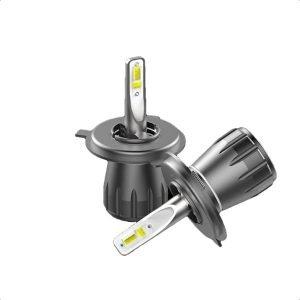 Motoeye H4 LED Headlight Bulbs Hi/Lo Beam 9600LM (2x4800LM) 80W(2x40W) 6500K Cool White - 2 Year Warranty-2